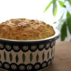 Caribbean Crab Souffle - A spicy crab souffle with celery, coconut, thyme, garlic.
