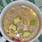 Mexican Chicken Soup - Tired of plain old Chicken Soup?  Try this spunky Mexican inspired masterpiece.  Adding the avocado is a must! We also add a little grated cheese and crushed tortilla chips.