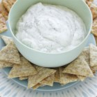 Cool Cucumber Dill Dip - Classic ranch dip gets a cool treatment with the addition of chopped cucumber and dill.