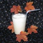 Vermont Maple Float - Pure maple syrup stirred into a tall glass of milk and topped with ice cream. A good ol' fashioned sweet treat of a drink.