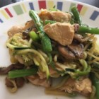 Whole30(R) Thai Stir Fry - This chicken and vegetable stir fry is flavored with a refreshing Thai-inspired sauce and fits into a paleo, gluten-free, and Whole30(R) lifestyle.