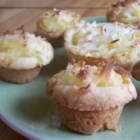 Hawaiian Tarts - A tropical tart with pineapple and coconut. These are pretty and delicious.