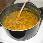 Curried Wild Rice and Squash Soup - Yummy curried wild rice and squash soup.