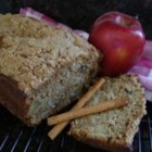 Apple Walnut Pound Cake - Almost a pound cake. We like it sliced, spread with butter, then microwaved just until warm.