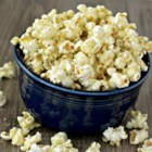 Italian Popcorn with Parmesan - Popcorn tossed with Italian seasoning, garlic salt, and Parmesan cheese is a fun Italian-inspired popcorn snack perfect for movie night.