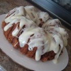 Spiced Banana Cake - A really good, moist spice cake.  Especially good with the Allspice Cream Cheese Frosting.