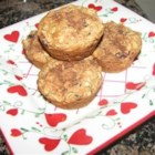Applesauce-Oat Muffins - These cinnamon-spiced muffins are so good for a winter breakfast when served warm.