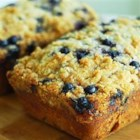 Blueberry Zucchini Bread - Blueberries and zucchini baked up into delicious little summertime bread loaves!