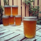 Pear Honey - This tastes so much like honey, your friends will never believe that the bees did not make it. Great on hot biscuits and to give as gifts. This was my grandmother's recipe that she made every fall. Hope you love it!