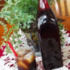 Coffee Liqueur - A simple syrup, vanilla and instant coffee are combined with vodka and vanilla in this homemade version of the popular after dinner cordial.