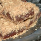 Date Bars I - Two crunchy oatmeal layers with a gooey date filling in between.