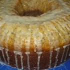 Poppy Seed Cake III - A moist pound cake. Can be baked in tube, Bundt, or 2 loaf pans.
