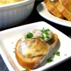 Warm Mushroom Spread - Serve this delicious buttery mushroom spread on crackers or with warm bread.