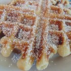Funnel Cake Waffles - Funnel cake waffles are a breakfast-version of everyone's favorite fair or carnival food with the deep-frying.