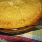 Impossible Coconut Pie II - Milk, eggs, coconut and a few other nice ingredients are plopped into the electric blender and poured into a prepared pie plate. It then goes into the oven an quickly becomes an amazing coconut custard pie.