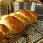 Challah II - This is a honey-sweetened version of the classic Jewish egg bread.