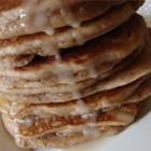 Cinnamon Griddle Cakes - A yummy and simple breakfast food, and a simple substitute to making cinnamon rolls. Delicious cinnamon biscuits that are baked on the griddle!