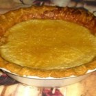 Buttermilk Pie IV - A sweet and delicious custard pie made with buttermilk in a deep dish.