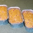 Cranberry Nut Bread II - This bread is fabulous, with cranberries, walnuts and a hint of orange.
