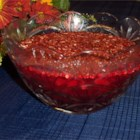Cranberry Gelatin Salad I - In this salad, cranberry sauce and pineapple chunks are stirred into a gelatin base and sprinkled with chopped nuts.