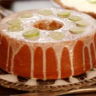 Key Lime Daiquiri Pound Cake - Key lime juice and rum are baked in the cake, which is then glazed with more lime juice and rum!