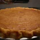 Sweet Potato Pie II - My brother loved this pie so much that he learned to make it.