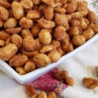 Chipotle Honey Roasted Peanuts - Absolutely delicious!  This recipe started out as a basic honey roasted beer nut recipe and evolved into this splendid party treat.