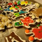 Chocolate Gingerbread Cookies - Very good, and not to hard to make.