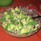 Broccoli Salad I - A healthy, bright salad.