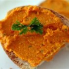 Spicy Roasted Red Pepper and Feta Hummus