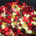Spicy Cranberry Chutney - This is a delicious condiment full of chunky apples and apricots, zesty ginger, chewy raisins, and, of course, tart cranberries. Wonderful served on either hot or cold turkey.
