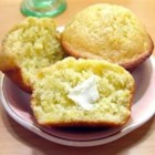 Plantain Corn Muffins - Ripe plantains and cornmeal help make these simple and tasty muffins.
