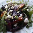 Roasted Beet, Peach and Goat Cheese Salad - This salad is a bit of work, but it's so delicious and always impresses guests. Mache can be hard to find, so you may omit it and just use arugula, but it adds a great nutty flavor if you can find it.