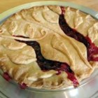 Buttery Cranberry Pie - Great for the holidays- once you serve this pie, everyone wants seconds! Try a scoop of vanilla ice cream on top while still warm. MMMM!