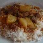 Carne Con Papas - An old fashioned Cuban dish, with tender succulent meat and potatoes bursting with flavors. It is definitely a pleaser for any meat and potatoes fan. This recipe is made in a pressure cooker.