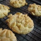 Pignoli Cookies II - Also called pine nut cookies.  I make them and my family eats them so quickly I have to hide a few so I get some.