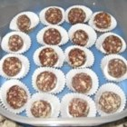 Rum Cookie Balls - No bake chocolate cookie balls made from chocolate chips, vanilla wafers, pecans and rum.