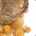 Slow Cooker Beef Roast - An easy slow cooked beef flavored with Worcestershire and barbeque sauces.