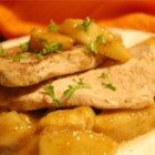 Sherry Apple Pork Chops Recipe