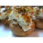 Sausage Stuffed Mushrooms II - Pork and cream cheese provide a flavorful, creamy stuffing for cute little mushroom caps.