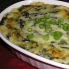 Hot Cheesy Spinach Dip - Here's a hot, creamy spinach dip made with white wine and plenty of mozzarella cheese. It's better than anything served in a restaurant. For extra excitement, add a can of artichokes, crabmeat or shrimp. Serve with tortilla chips, assorted crackers or bread.