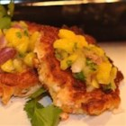Caribbean Grilled Crab Cakes - These grilled crab cakes are absolutely delicious. The mango salsa adds a real Caribbean flair. I prefer to use fresh crabmeat, but you can use whatever is on hand.