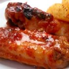 Basic Easy Chicken Wings - Quick spicy wings made with hot sauce and butter.