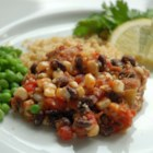 Southwest Chicken - Healthy and hearty, chicken simmers with tomatoes, black beans and corn.