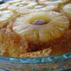 Old Fashioned Pineapple Upside-Down Cake - This is an old recipe, and a really good cake.