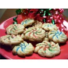 Spritz Cookies II - This is the recipe we have always used at Christmas.