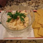 Creamy Summer Crab Dip - This creamy imitation crab dip is made with cream cheese, mayo, and sour cream.  A lovely cold and creamy crab dip. Fantastic served with butter flavored crackers. We never have any left!