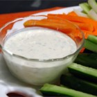 Creamy Dill Dipping Sauce - A tasty creamy dill dipping sauce.