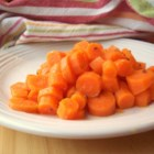 Carrots in Dill Butter - Carrots are gently simmered in butter and dill seed.