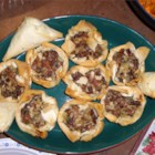 Chanterelle Mushroom and Bacon Tartlets - Wild chanterelle mushrooms and bacon combine wonderfully in this impressive and elegant starter.